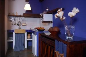 Cocina alojamientos rurales estrella rural braojos