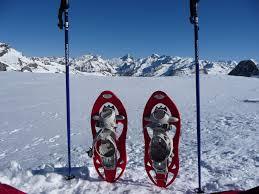 raquetas nieve dos