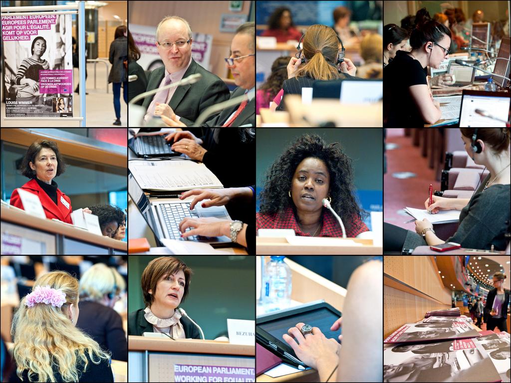 dia de la mujer parlamento europeo