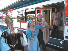 Tren Medieval 1