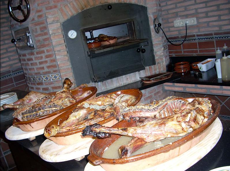 asador del rey la sierra con estilo san lorenzo de el escorial