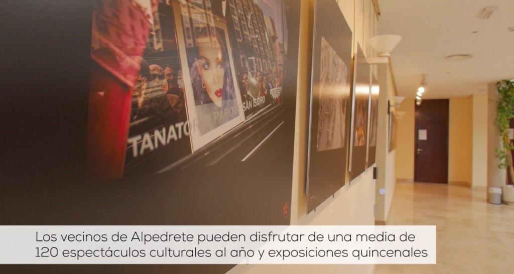 exposicion en el centro cultural de alpedrete via la sierra con estilo