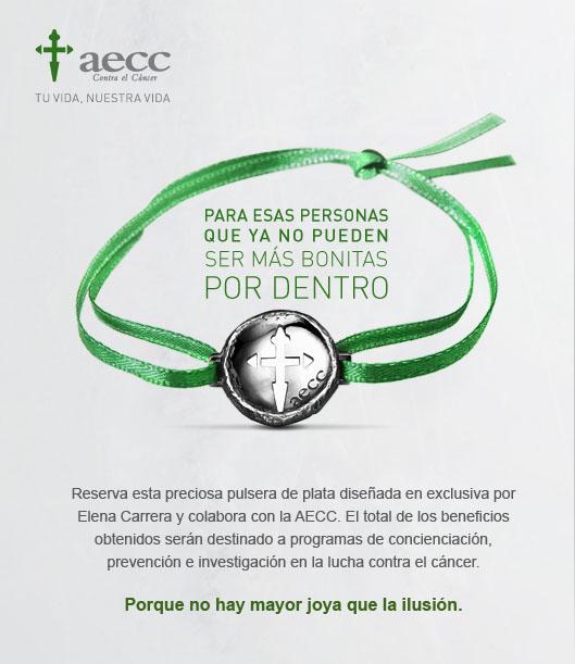 pulsera solidaria elena carrera para aecc madridpulsera solidaria elena carrera para aecc madrid