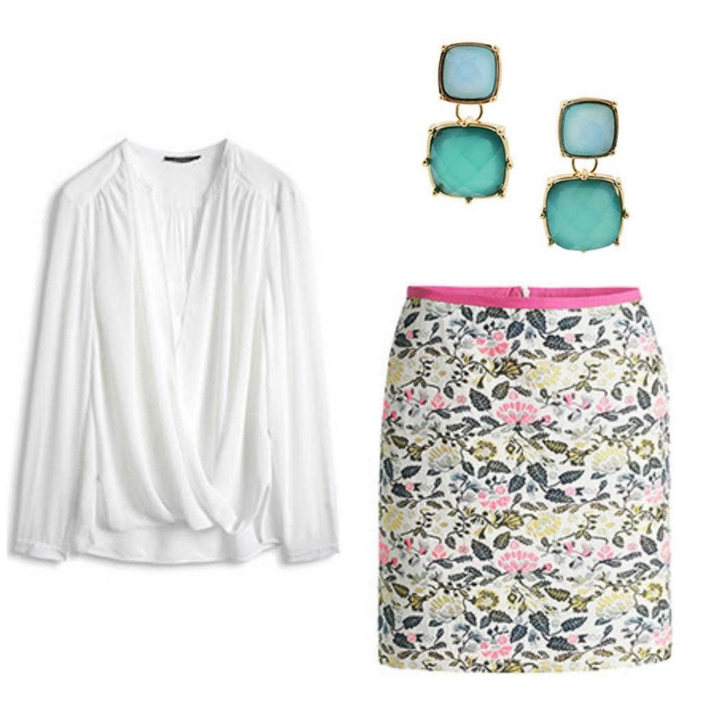 look communion 3 falda y blusa de esprit via la sierra con estilo