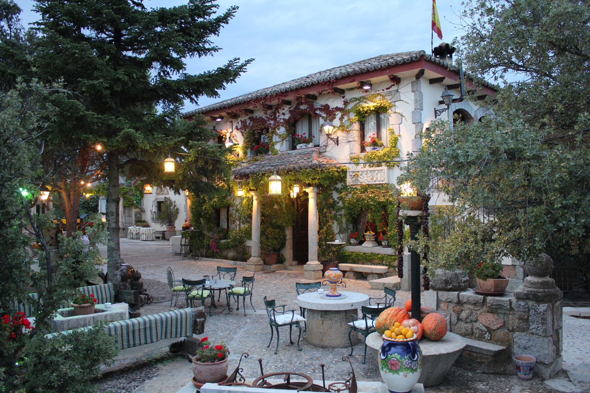 10 fincas para bodas en la sierra la sierra con estilo - Casas con parcela baratas cerca de madrid ...